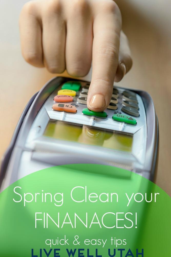 Spring Clean your Finances livewellutah.org