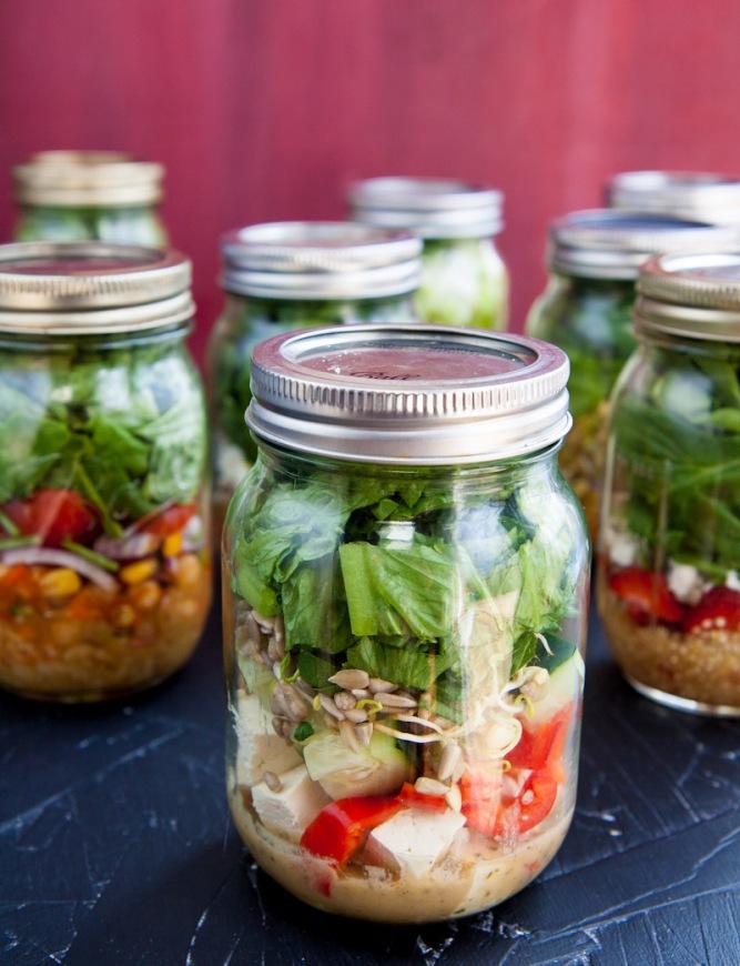 salad in a jar recipes
