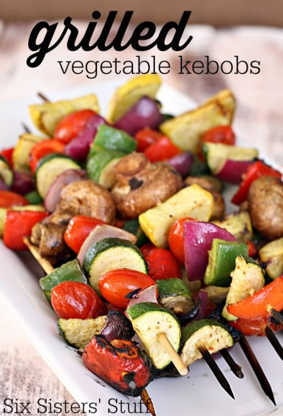 grilled vegetable for BBQ recipe
