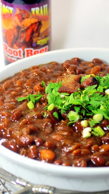 root beer beans BBQ recipe