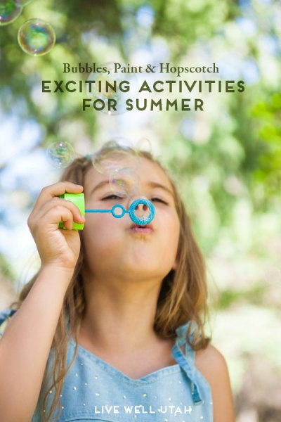 Bubbles, Paint & Hopscotch! Exciting Activities for kids in
