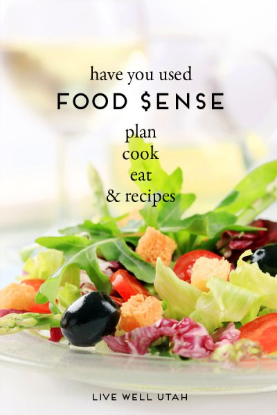 have you used Food $ense? Plan, cook, eat, & recipes