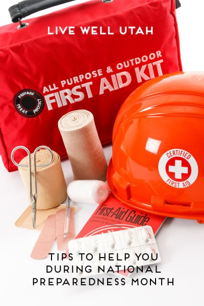 tips to help you during National Preparedness Month | Live Well Utah