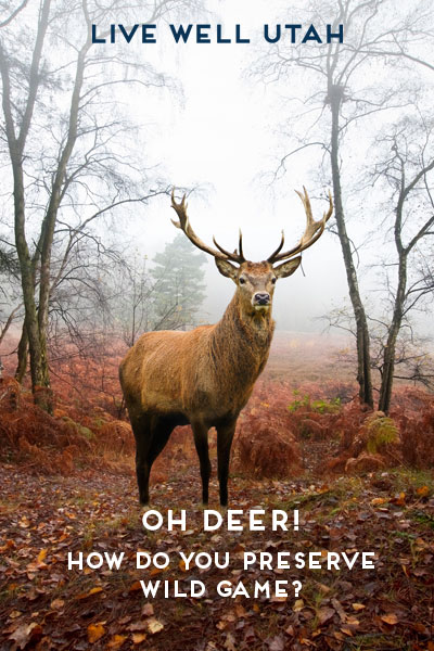 Oh Deer! How Do You Preserve Wild Game? | Live Well Utah