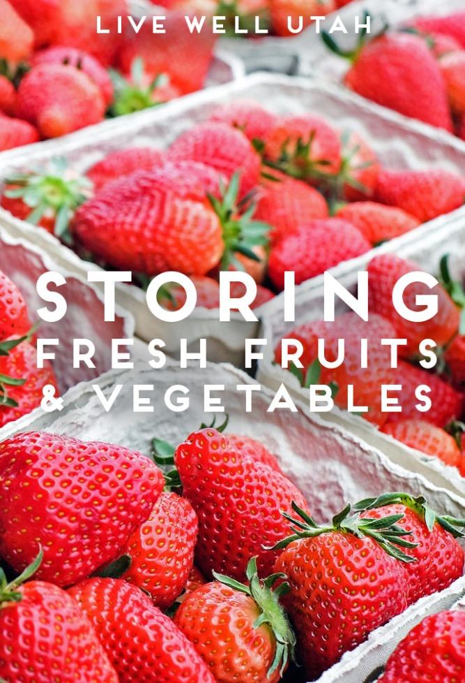 Storing Fruit